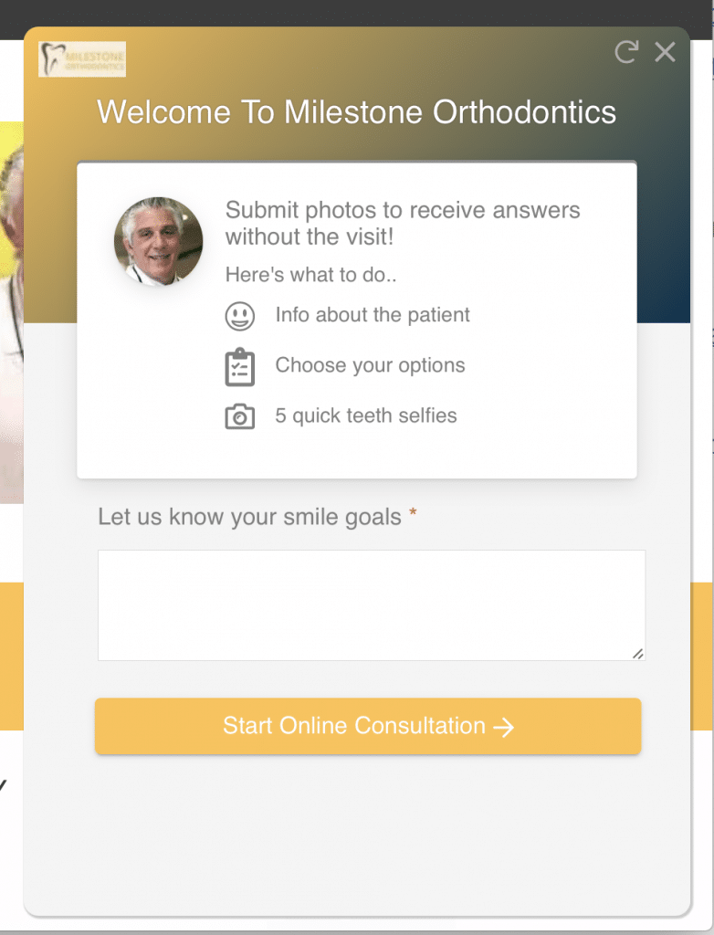 Orthodontic Virtual Consultations
